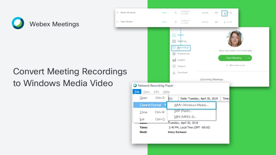 webex video recorder software free download