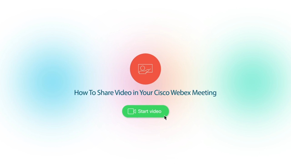 Webex Product Demo - Content Sharing