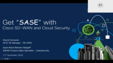 Get SASE with Cisco SD-WAN and Cloud Security