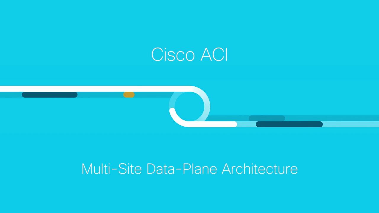 Overview Cisco Aci Multi Site Data Plane Architecture Data Center