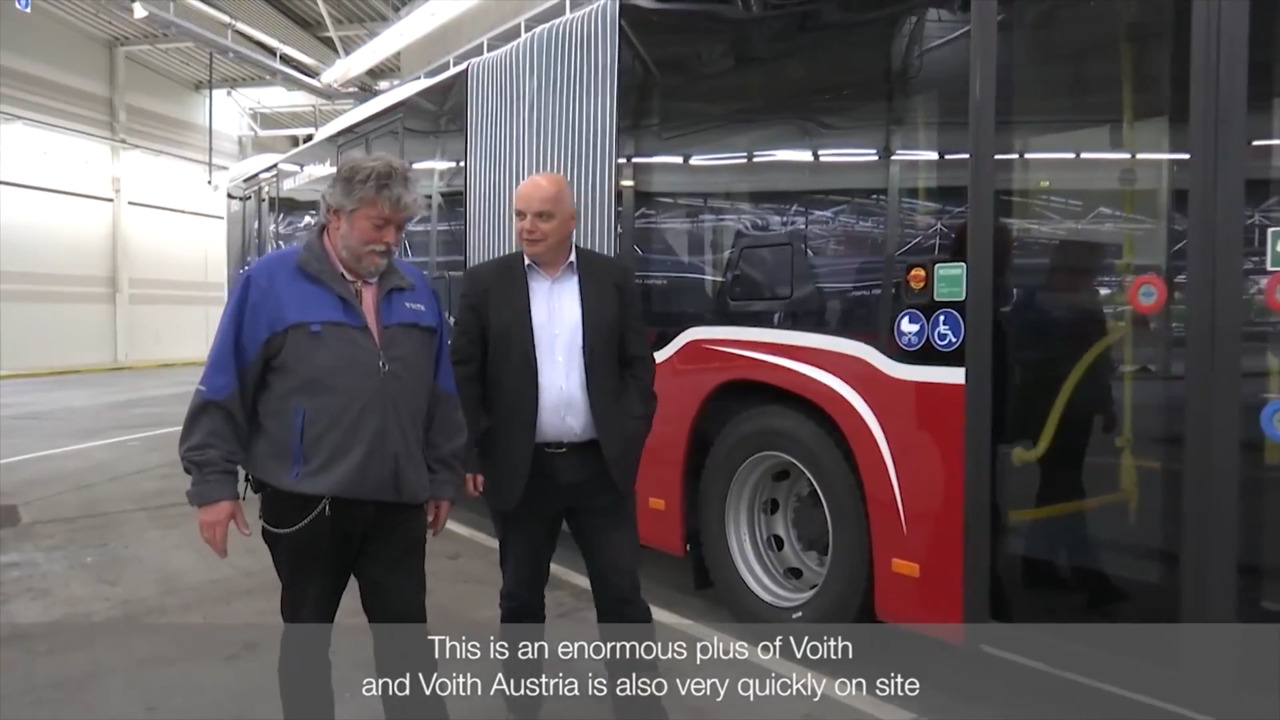 Automatic transmission for buses | Voith