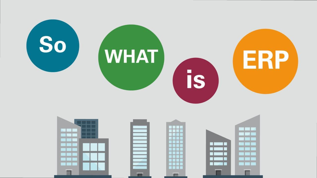 What is ERP? | Oracle