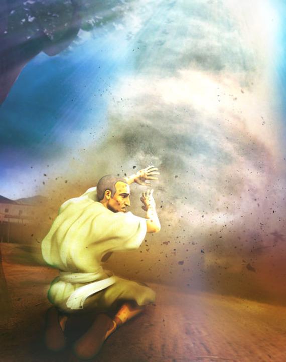 După ce experimentează povestea lui Iov, Cristi își dă seama că Dumnezeu va fi întotdeauna cu el, indiferent cât de dificile sunt circumstanțele prin care trece.