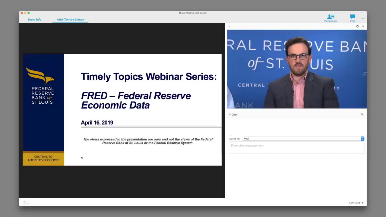 Timely Topics Webinar: A How-To on FRED | St  Louis Fed