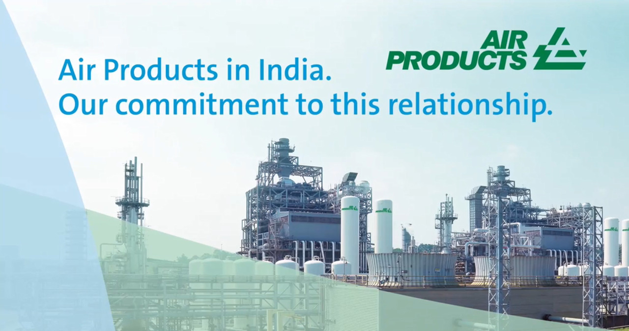 Air Products' Commitment to India