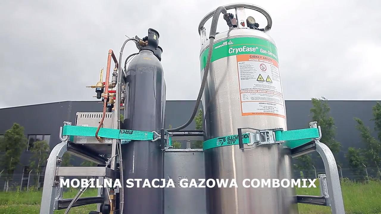 Mobilna stacja gazowa ComboMix Ar+CO2