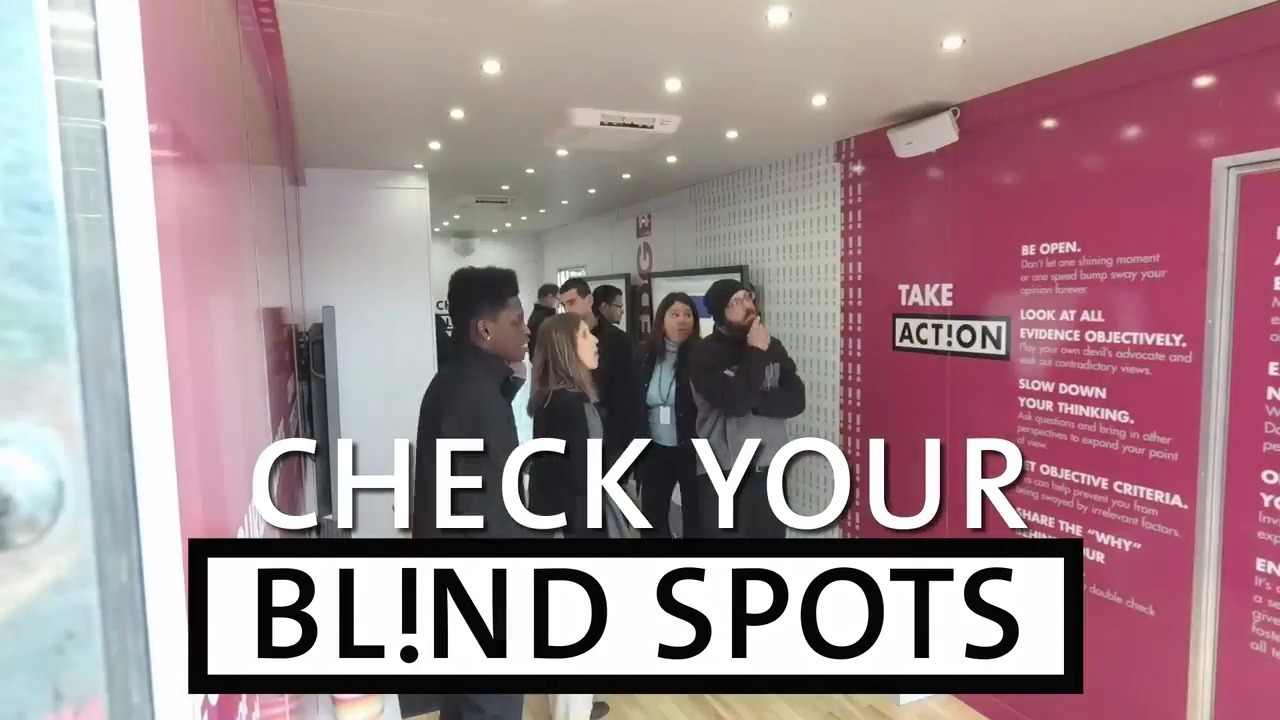 Blind Spots Mobile Learning Tour Video