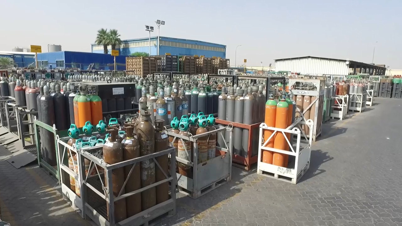 Air Products Speciality Gases Capabilities in the Middle East, Egypt and Turkey
