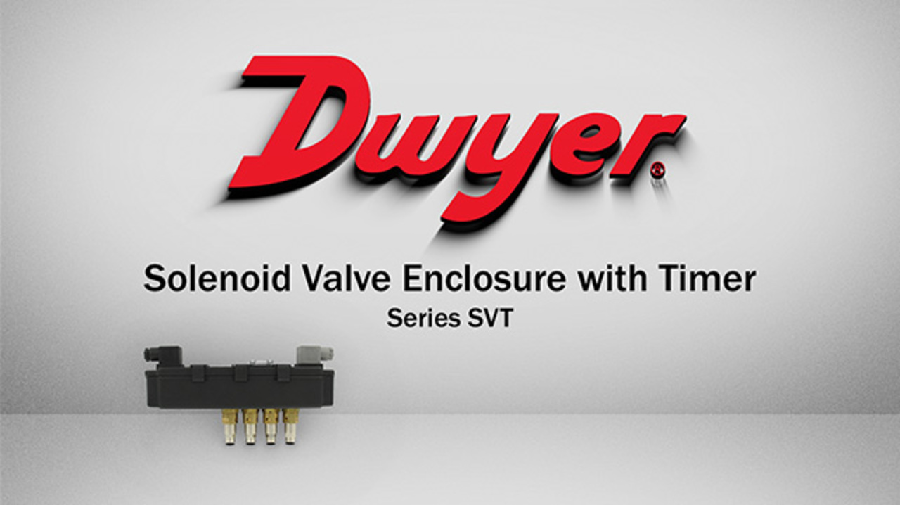 Solenoid Valve Enclosure With Timer