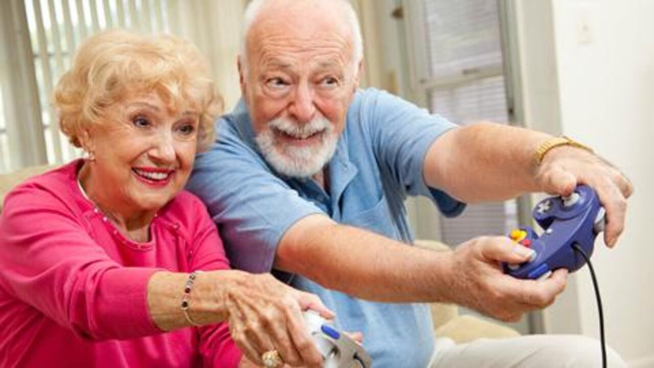 How Video Games Keep You Young