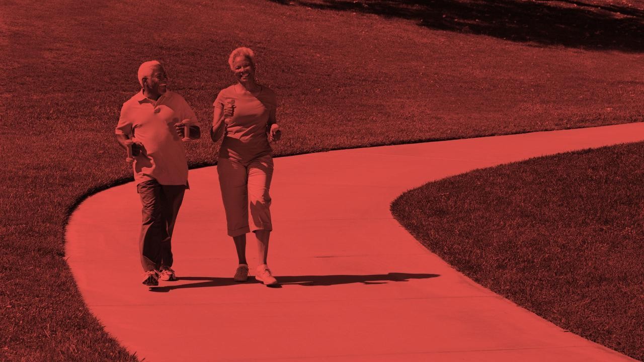 Walk to Improve Cholesterol and Prevent Alzheimer's Disease