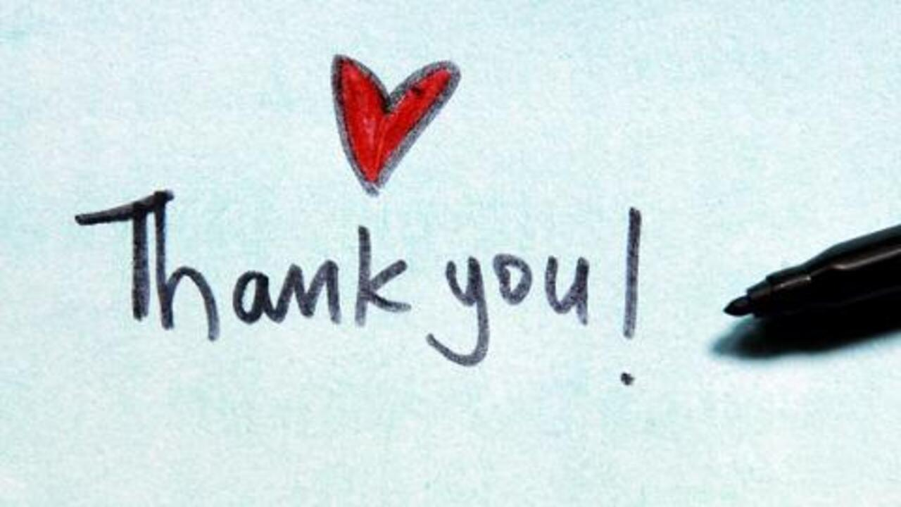 Boost Your Mood With a Thank You Note