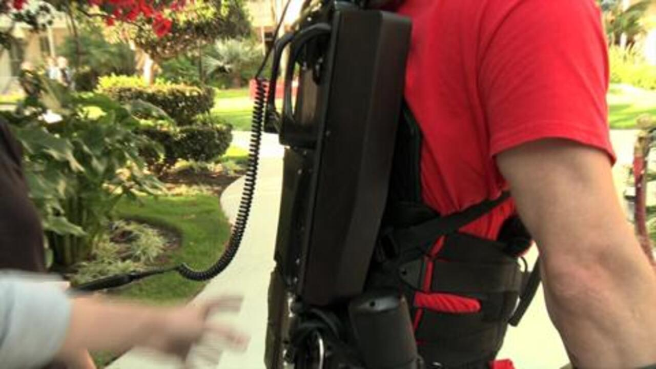 Walking Again with the Help of an Exoskeleton