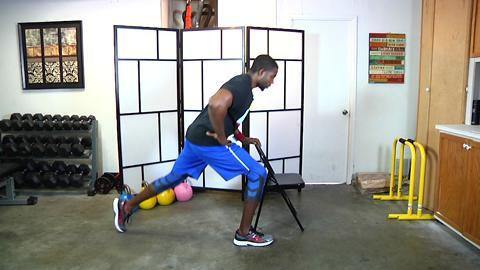 Standing Leg and Butt Exercises
