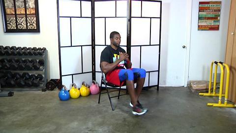 5-Minute Chair Workout