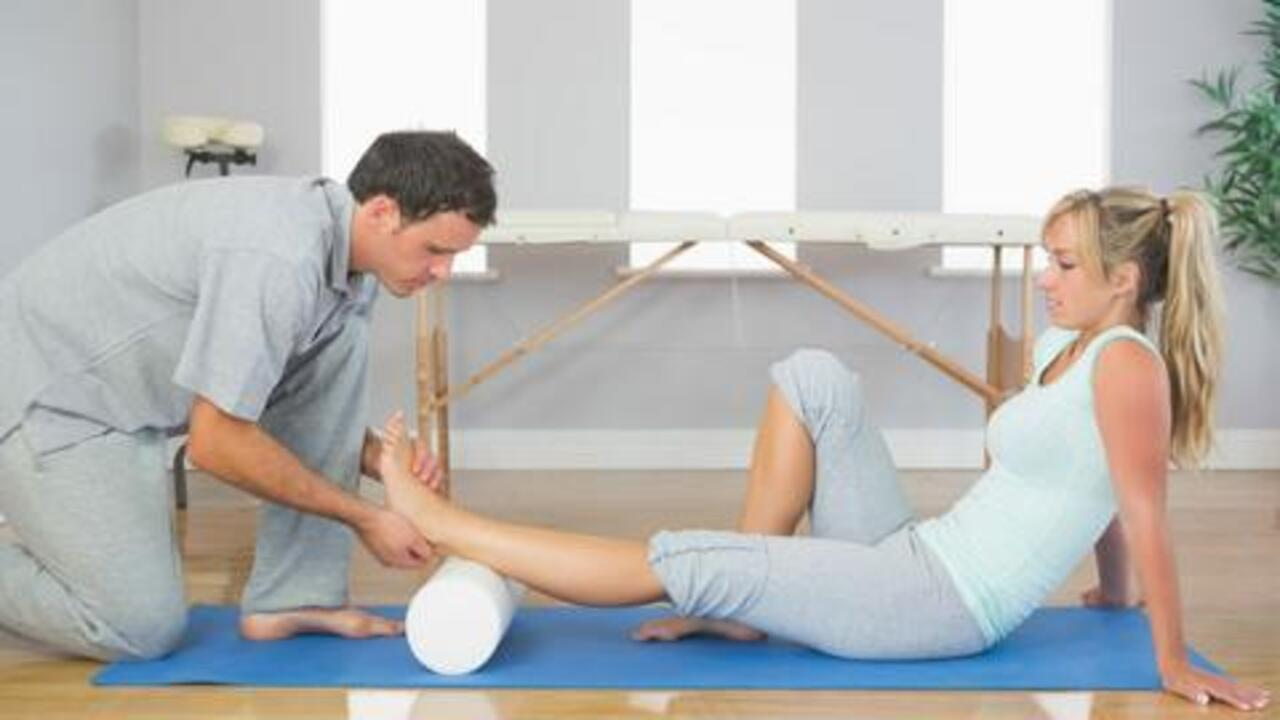 Use a Foam Roller to Stretch Knotted Sore Muscles