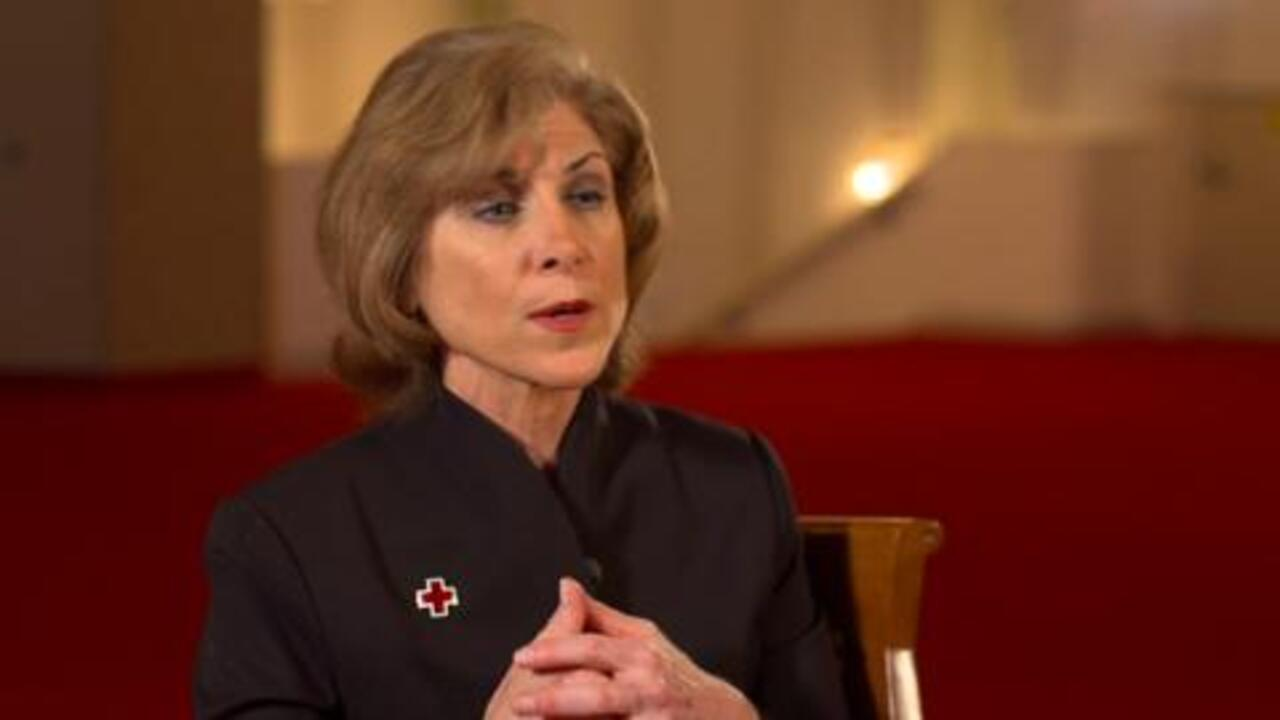 How Is the American Red Cross Involved in the Healthcare System?