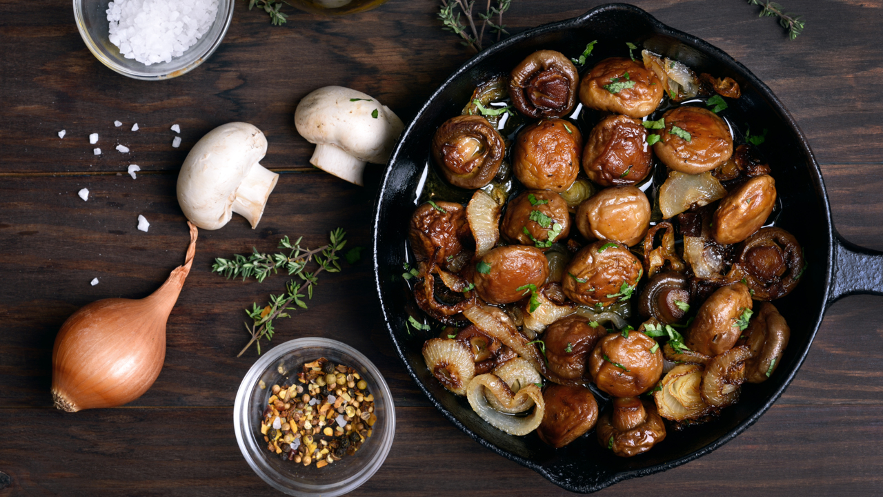 Add Mushrooms to Meat for Flavor and Nutrition