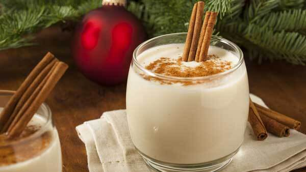Healthy Holiday Eggnog