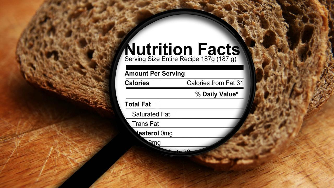 How to Understand Food Labels for Whole Grains