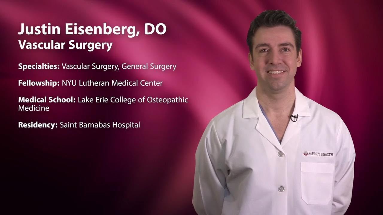 Dr  Justin Eisenberg, Vascular Surgery - Muskegon, MI | Sharecare