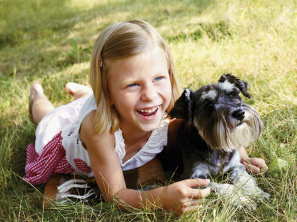Pets Are Good for Kids' Health