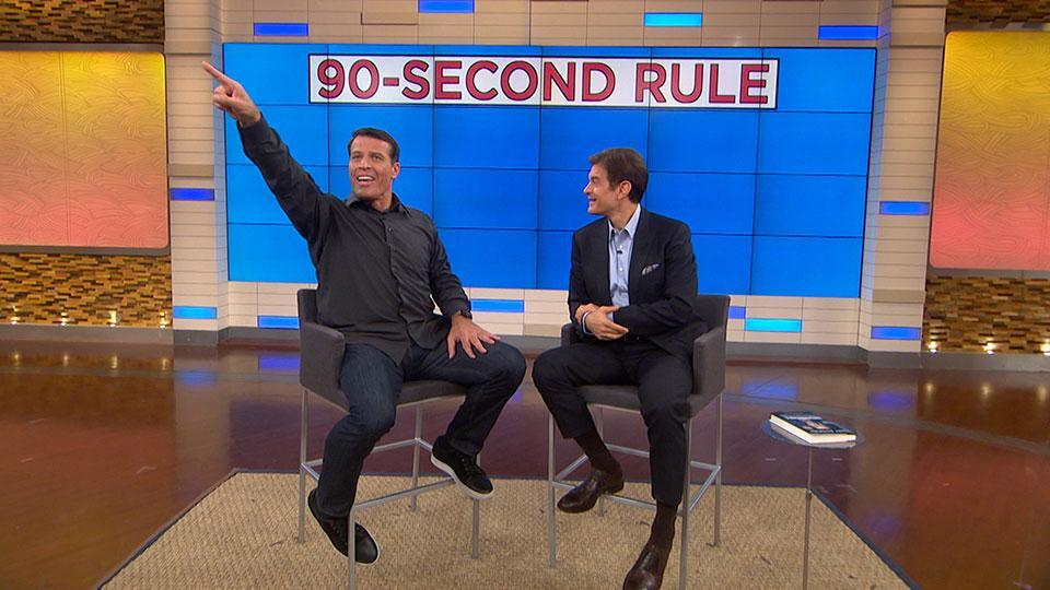 Tony Robbins' 90-Second Rule