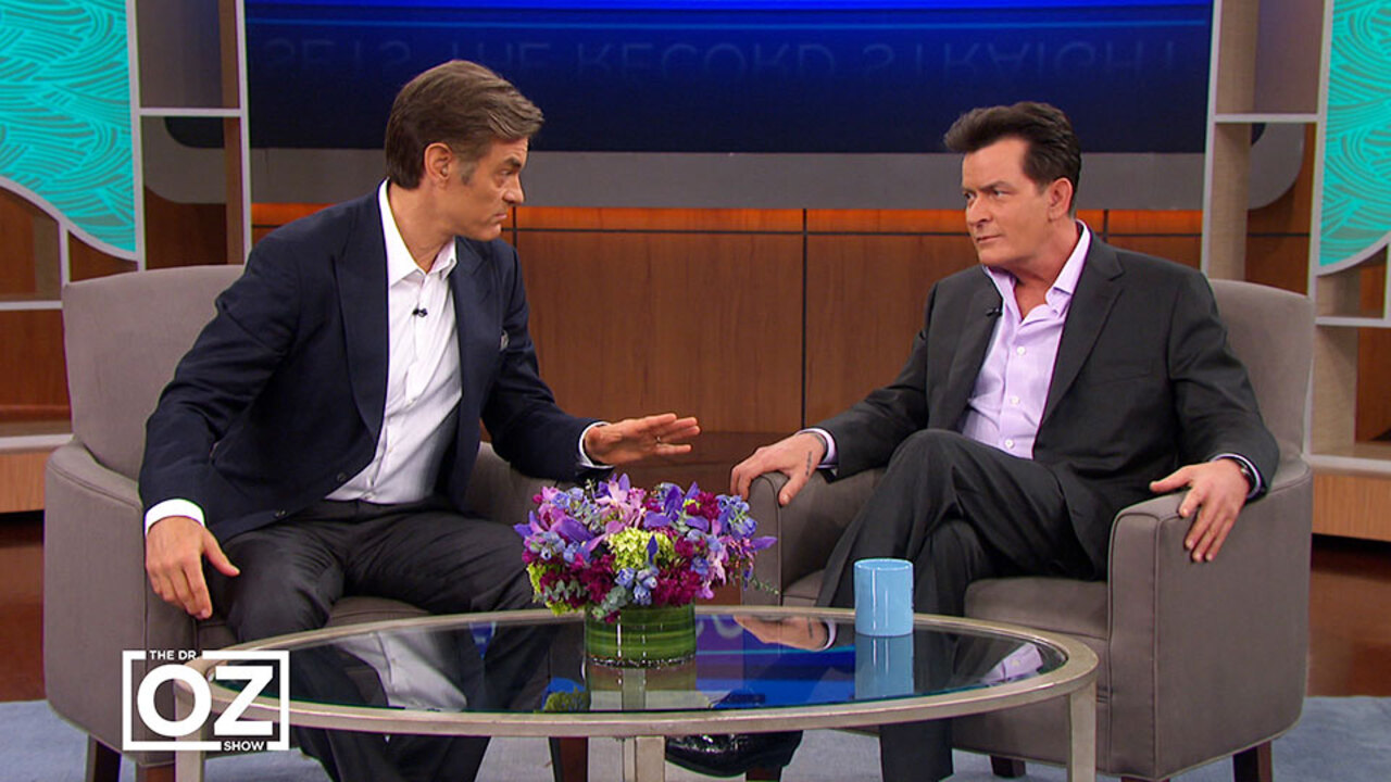 Charlie Sheen Debunks a Surprising Claim