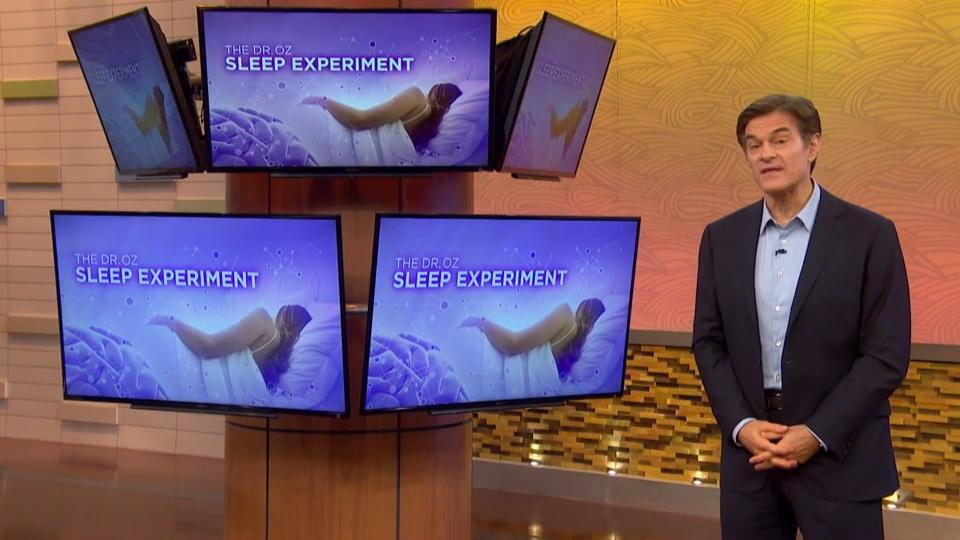 Dr. Oz's Sleep Experiment