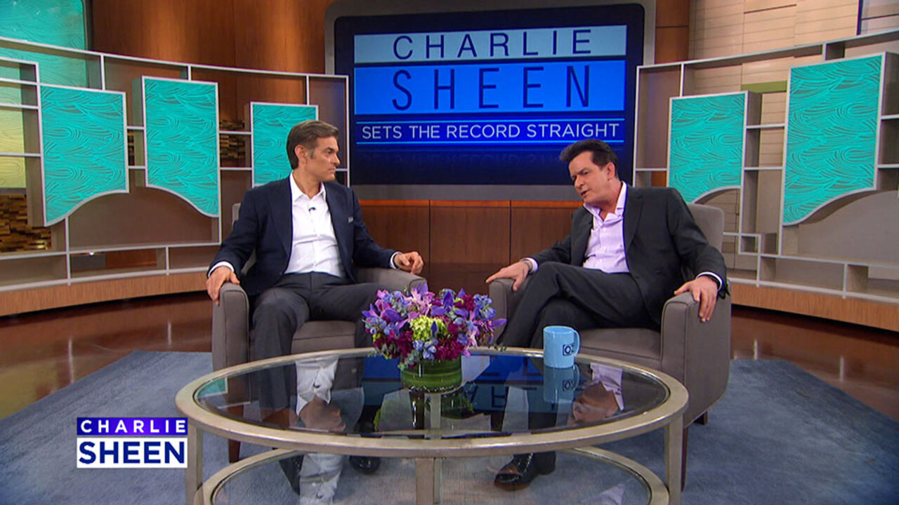 Charlie Sheen Reacts to Alternative Doctor's TV Show Appearance