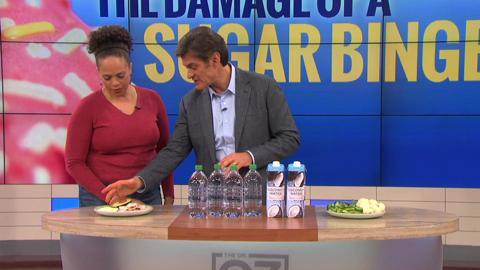 Dr. Oz Explains What a Sugar Binge Does to Your Body