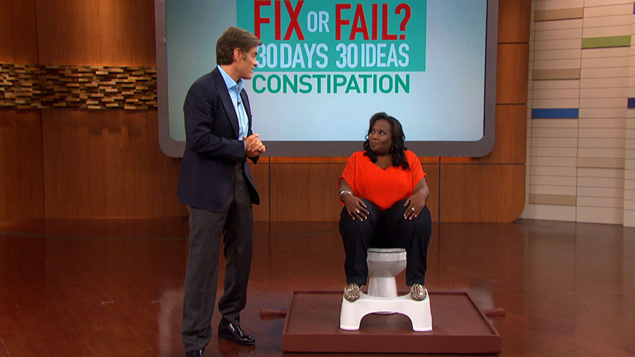 Dr. Oz Explains How the Squatty Potty Works