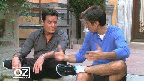 Why Charlie Sheen Quit Drinking Again