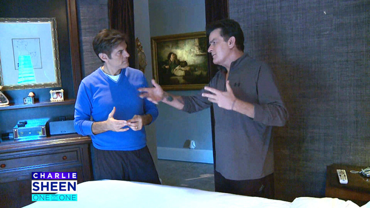 Inside Charlie Sheen's Bedroom