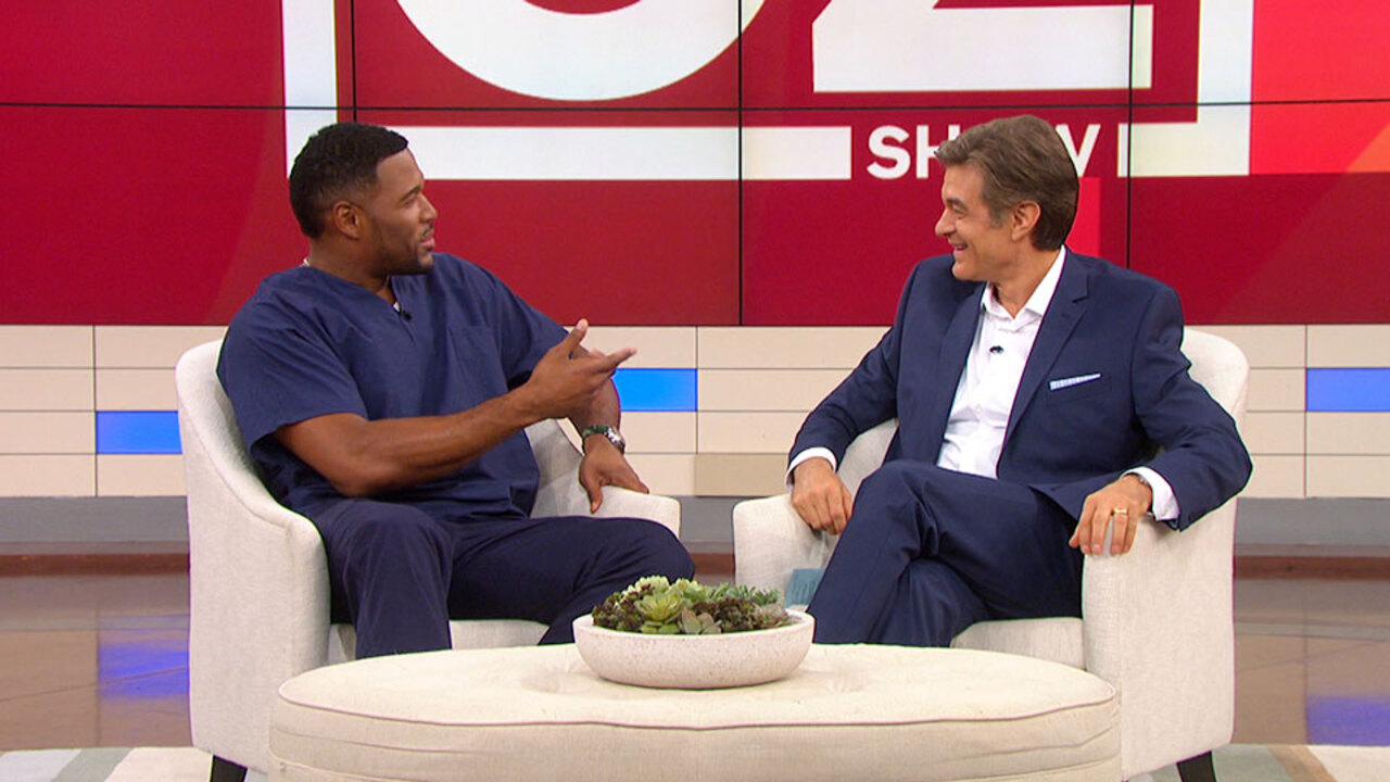 Michael Strahan and Dr. Oz Talk About Fashion