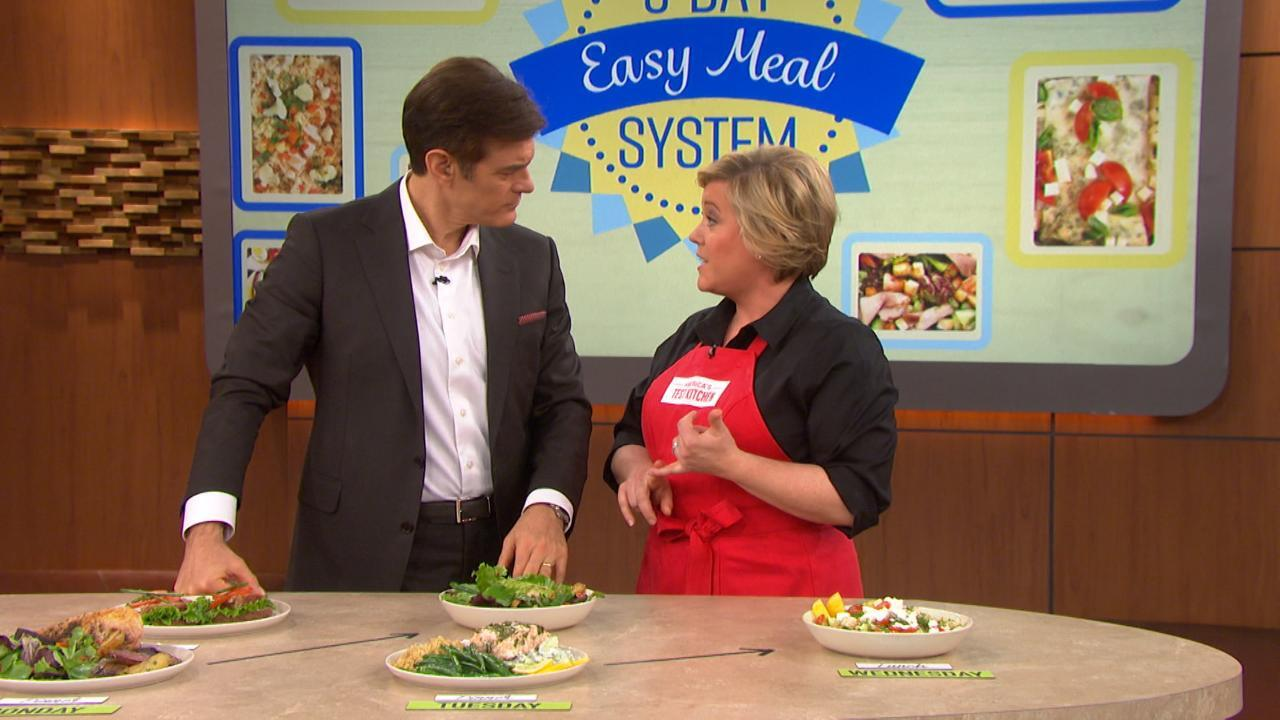 The Meals Behind The 5-Day Easy Meal System