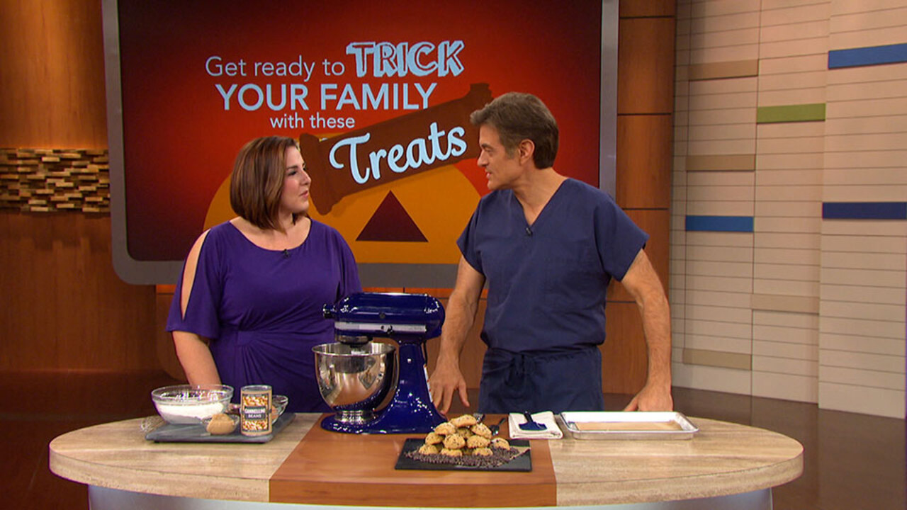 Jeanette Tricks Her Kids Into Eating Healthy Cookies