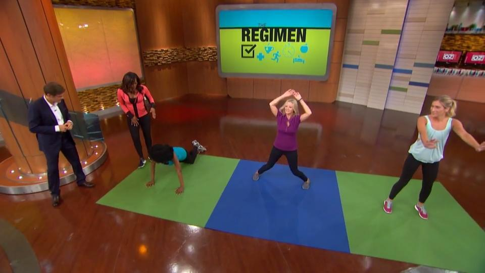 How to Do The 7-Minute Regimen Workout