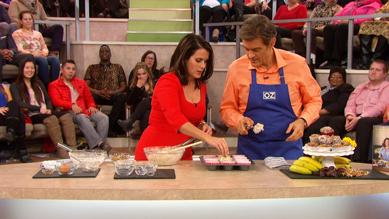 Lisa and Dr. Oz Cook Refried Beans and Salsa Tacos