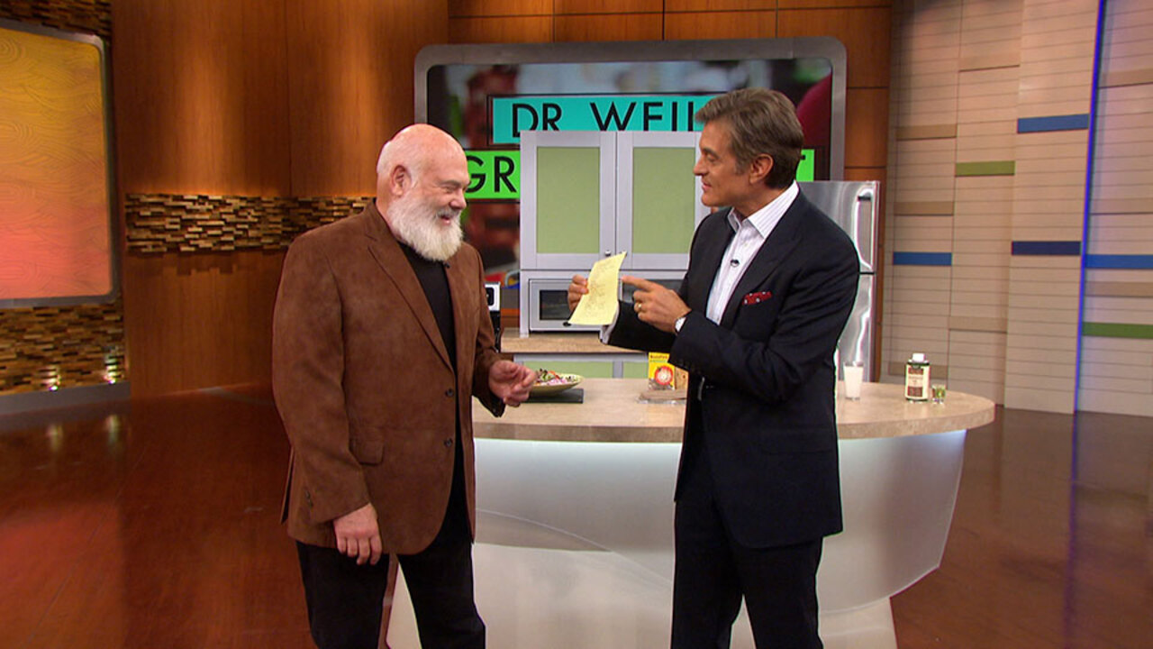 Grocery Shopping With Dr. Andrew Weil