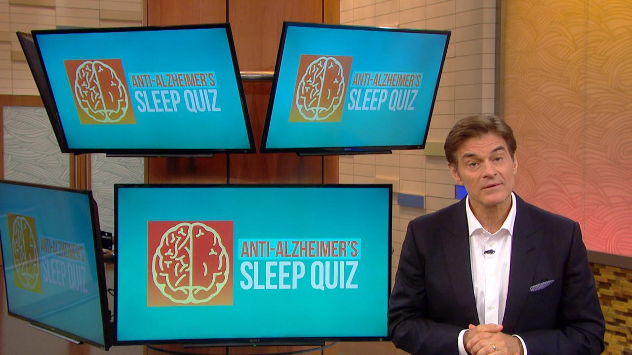 How Sleep Can Reduce Your Risk for Alzheimer's