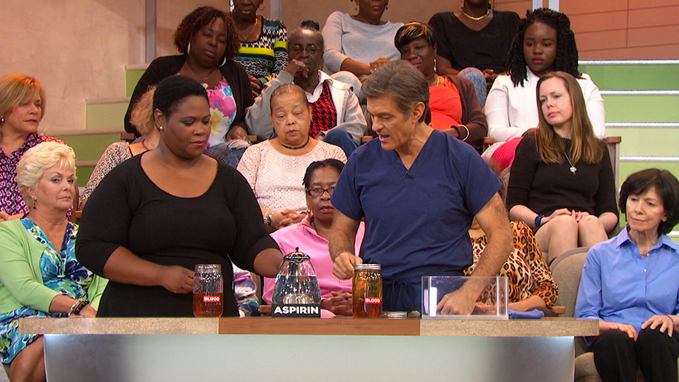 Dr. Oz Explains What Aspirin Does to Your Blood