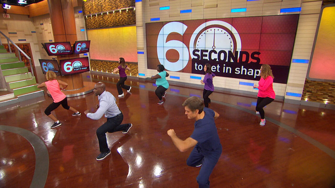 Morris Chestnut Shares His 60-Second Workout