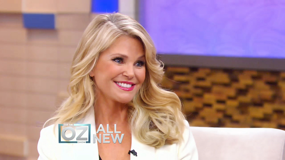 Christie Brinkley Reveals The Key To Looking Younger Supermodel Christie Brinkley S Anti Aging Secrets The Dr Oz Show