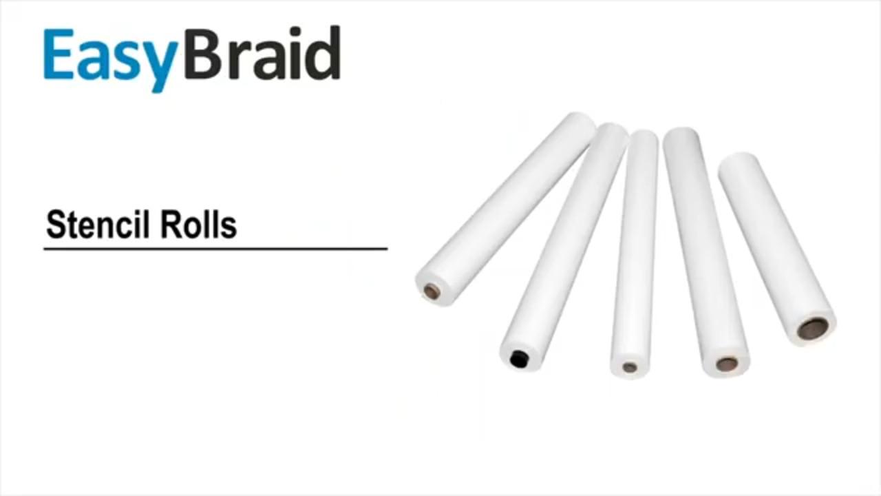 EasyBraid - Stencil Roll Production