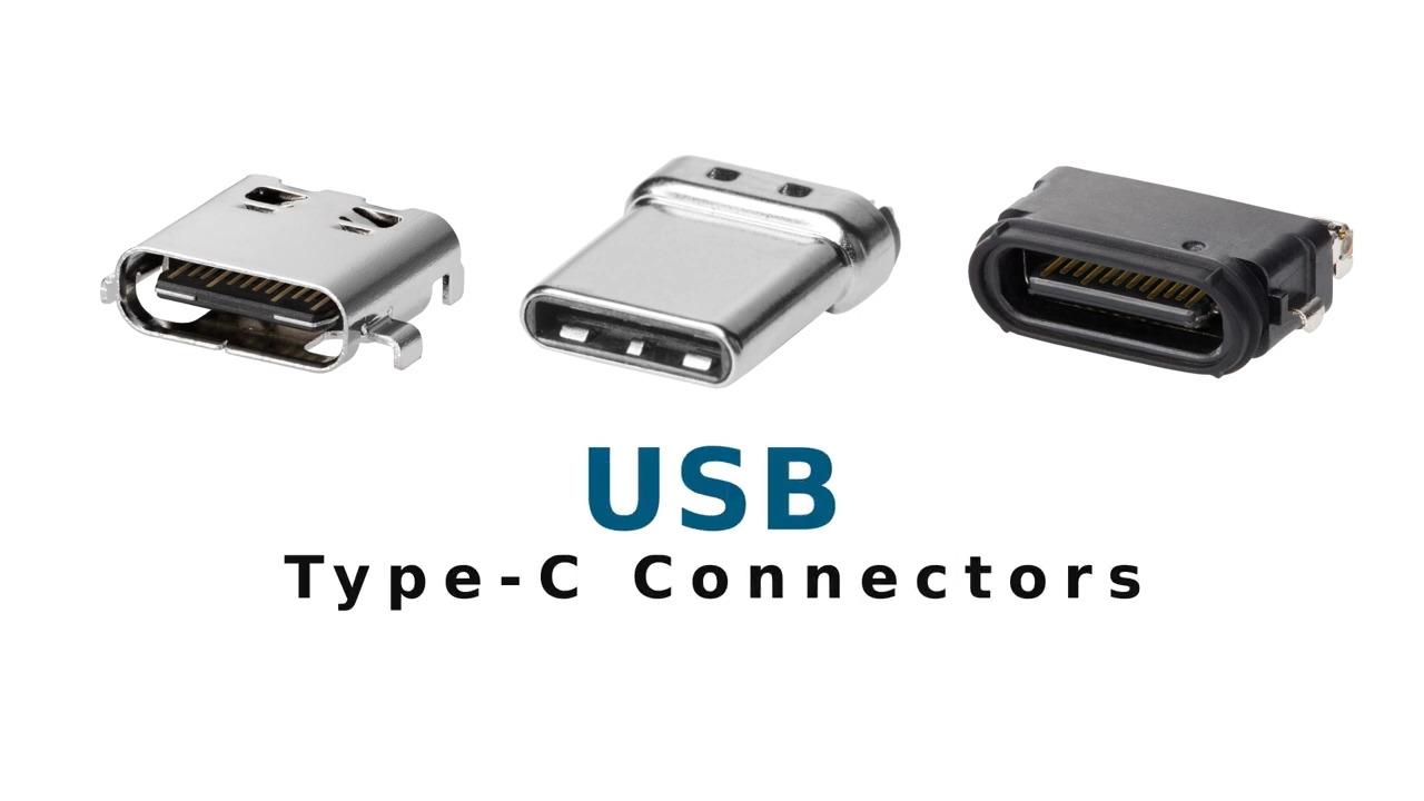 Gen 4 USB Type C Connectors
