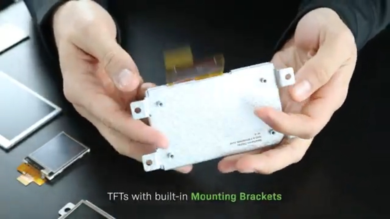 Mounting Bracket Advantages for TFT Displays
