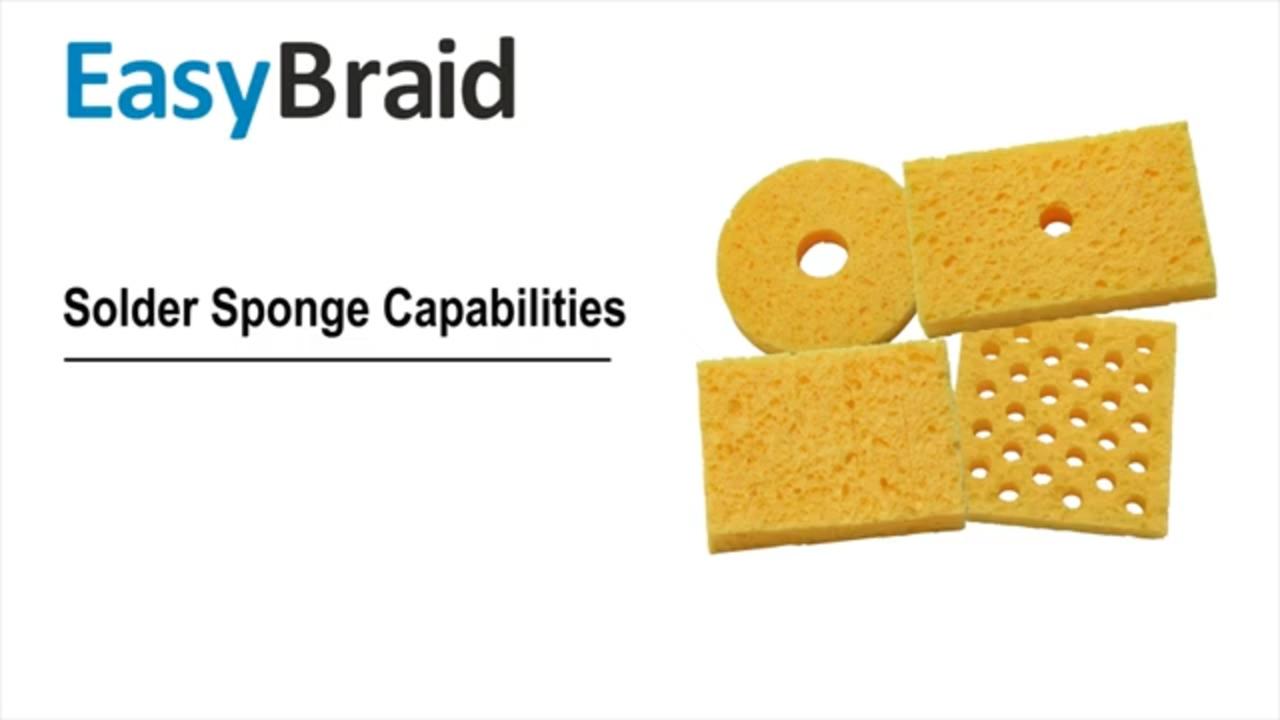 EasyBraid - Solder Sponge Capabilities