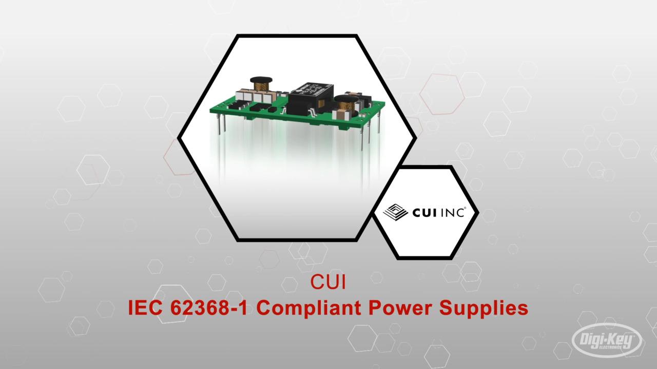 IEC 62368-1 Compliant Power Supplies | Datasheet Preview