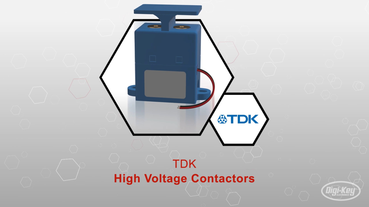 High Voltage Contactors | Datasheet Preview